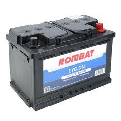 Baterie auto Rombat Cyclon 72Ah 600A 12V