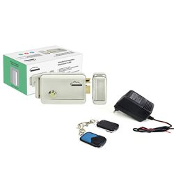 Kit automatizare porti fara fir SilverCloud - alimentator cu 2 telecomenzi AP101 si Yala electromagnetica YL500