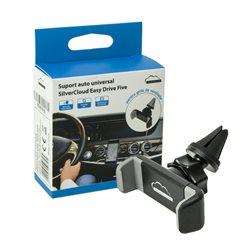 Suport auto universal SilverCloud Easy Drive Five pentru grila ventilatie