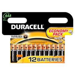 Baterie alcalina Duracell AAA sau R3 cod 81480556 blister cu 12bc