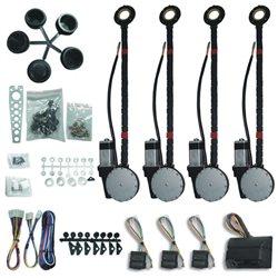 Kit universal PNI Escort G4 pentru 4 geamuri electrice