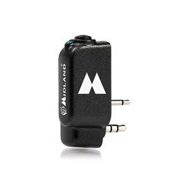 Adaptor Bluetooth Midland WA-DONGLE K pentru statii radio portabile cu 2 pini tip Kenwood Cod C1199.01