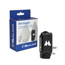 Adaptor Bluetooth Midland WA-DONGLE pentru statii radio CB si portabile cu 2 pini Cod C1199