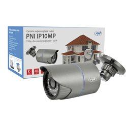 Camera supraveghere video PNI IP10MP 720p cu IP de exterior