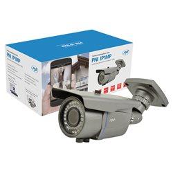 Camera supraveghere video PNI IP1MP 720p cu IP varifocala 2.8 - 12 mm de exterior
