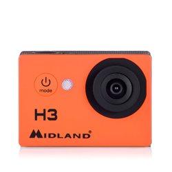 Camera video sport Midland H3 HD Ready Action Camera cod C1235