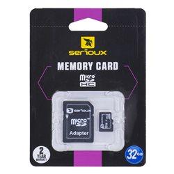 Card de memorie Serioux MicroSD 32GB Class 10 + Adaptor