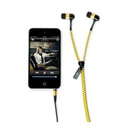Casti audio hi-Fun hi-Zip culoare galben cod 13197