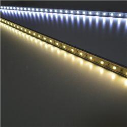 Banda LED PNI B30WW rigida de interior culoare alb cald 0.5m alimentare 12V