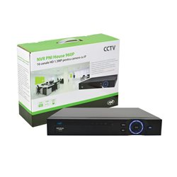 NVR PNI House 960P - 16 canale HD sau 8 canale Full HD 1080p 2MP