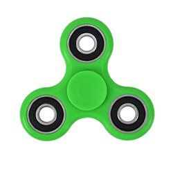 Jucarie antistres spinner PNI Speedy Green culoare verde