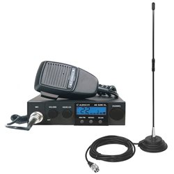 Kit Statie radio CB Albrecht AE 5290XL + Antena CB PNI Extra 40 cu magnet