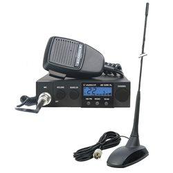 Kit Statie radio CB Albrecht AE 5290XL + Antena CB PNI Extra 48 cu magnet