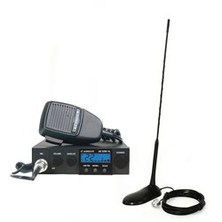 Kit Statie radio CB Albrecht AE 5290XL + Antena PNI Extra 45 cu magnet inclus