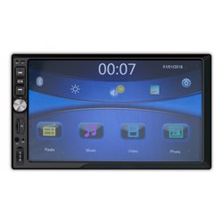 Multimedia player auto MP3 / MP4 / MP5 PNI V6250 cu touchscreen BT, USB, 2 DIN cu mirror link inclus pt. Android