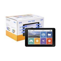 Sistem de navigatie GPS PNI T500 ecran 5 inch, 800 MHz, 256M DDR3, 8GB memorie interna, FM transmitter