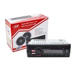 Radio MP3 player auto PNI Clementine 8440 4x45w 1 DIN cu SD, USB, AUX, RCA