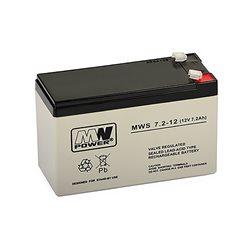 Acumulator cu gel MW 7.2-12 12V / 7.2Ah