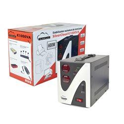 Stabilizator de tensiune SilverCloud 1000VA 600W