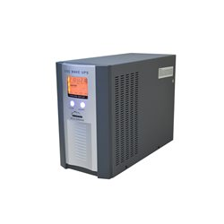 UPS SilverCloud 3KVA cu ecran LCD si putere 2400W - UPS pt. centrala termica 3000VA sinus