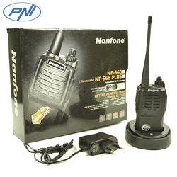 Statie radio UHF portabila PNI NF868 cu BT incorporat, 400—470MHz