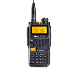 Statie radio VHF/UHF portabila Midland CT590 dual band Cod C1317
