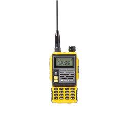 Statie radio VHF/UHF portabila Midland CT690 dual band 136-174 si 400-470 MHz culoare Galben Cod C1260.02