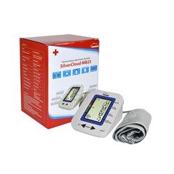 Tensiometru electronic de brat SilverCloud MB23 cu ecran LCD si atentionare vocala